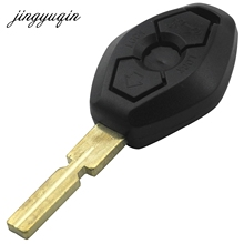 jingyuqin Remote Replacement Car Key Shell Fob Case Cover For BMW 3 5 7 SERIES Z3 Z4 X3 X5 M5 325i E38 E39 E46 3 Button