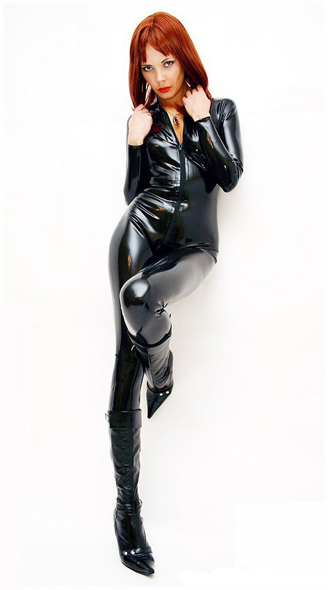 Mode femmes 2016 sexy noir latex justaucorps combinaison fétiche en caoutchouc body avec fermeture à glissière avant sous entrejambe grande taille combinaison