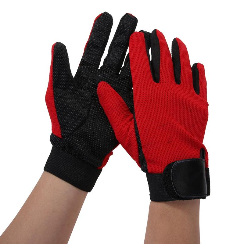1 Pair Unisex Non Slip Full finger Bike Cycling Gloves Outdoor Sport Mountaineering Motorcycle Racing Gloves Bicycle Accessories