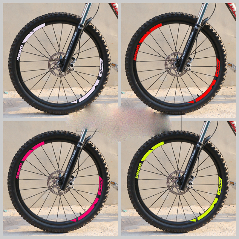 Mountain Bike Wheel Stickers