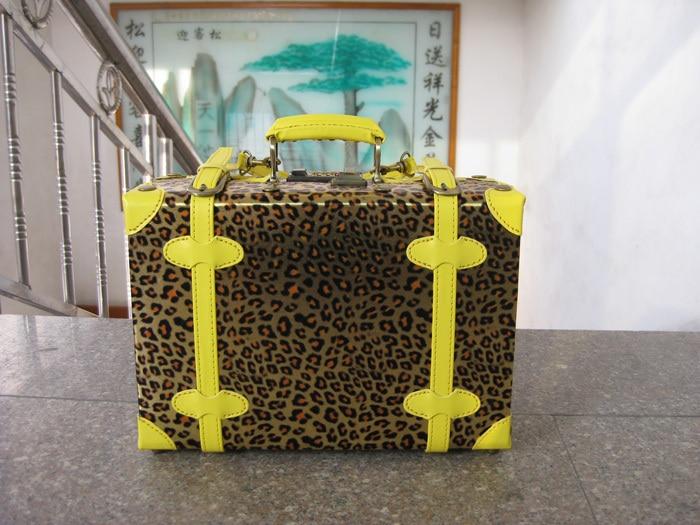 "Винтидж чанта за пътуване едно рамо кръстосано чанта чанти мъжки багаж кутия женска парола кутия, 12 ""14"" 18 ""20"" 22 ""24"" 28 ""30"""