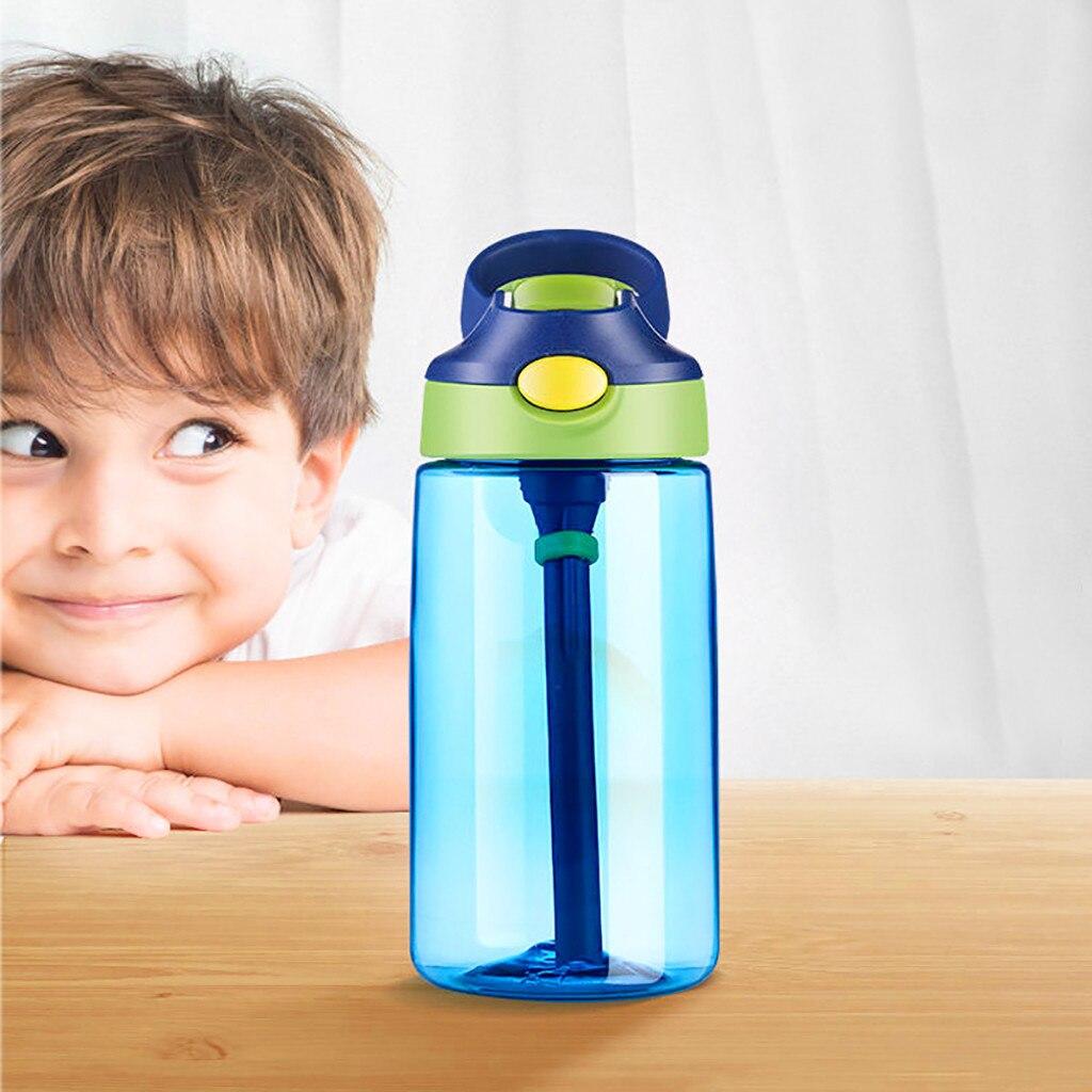 800ml Sport Water Flip Drinks Cycling Hiking Running Gym Hydration Straw Bottle