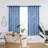 2019 New Luxury Double Layer Letter Tulle Door Window Curtain Drape Panel Sheer Scarf Valances for Living Room Bedroom Curtains