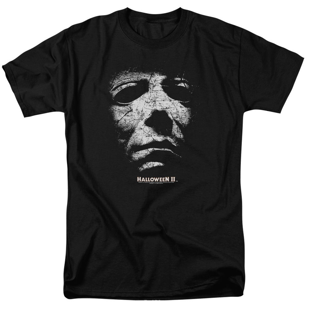 Michael Myers Halloween II Movie Mask Licensed Tee Shirt Adult Sizes S-3XL ...