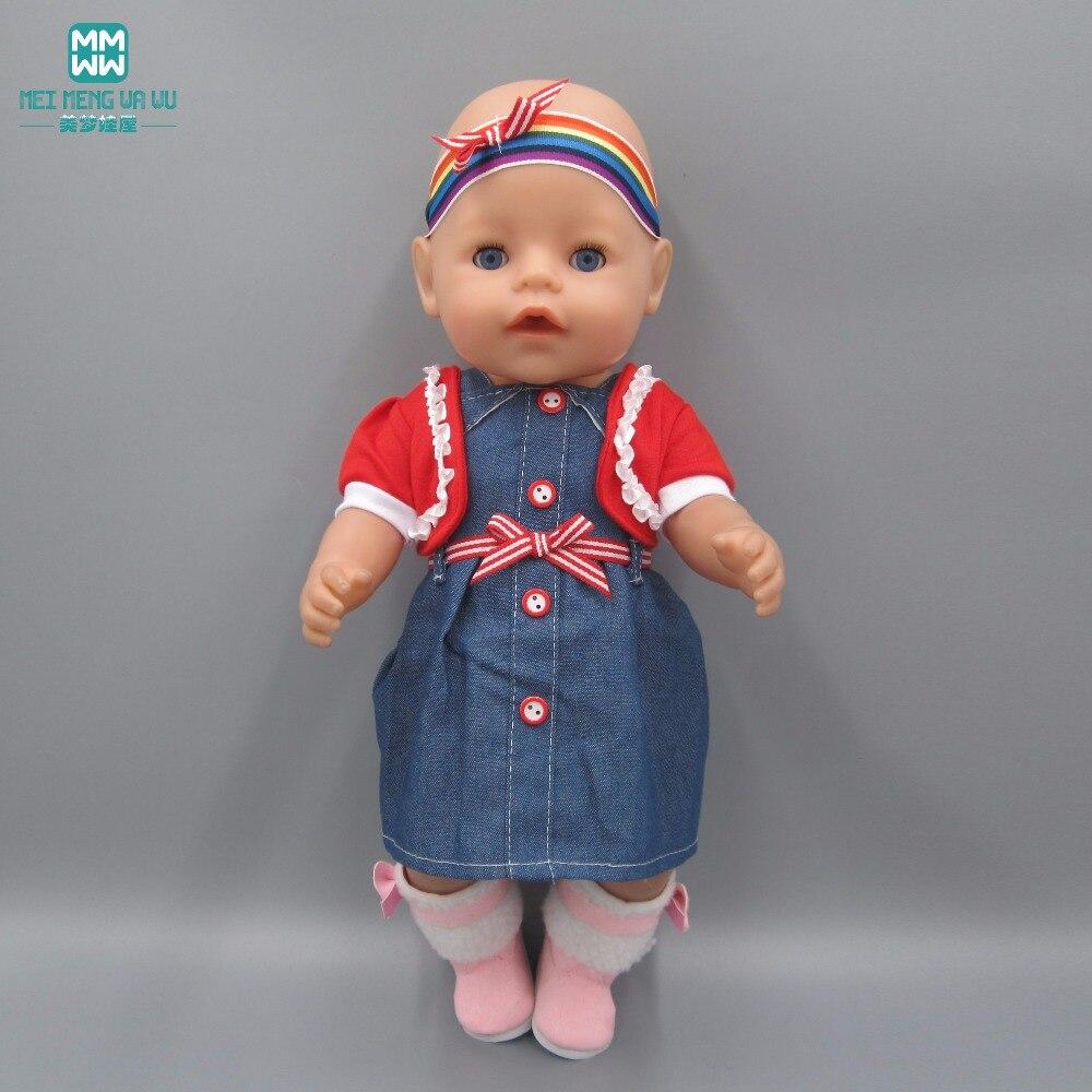 Pakaian untuk boneka, Cocok untuk 43 - 45 cm boneka gadis, Dan bayi - Boneka dan aksesoris - Foto 5