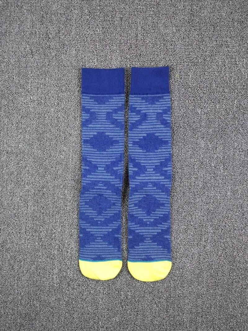 Mens Yellow Toe Yuppie Skate Dress Socks USA Size 6-8.5, 9-12 ,Euro Size 39-41.5,42-45 (Thin)