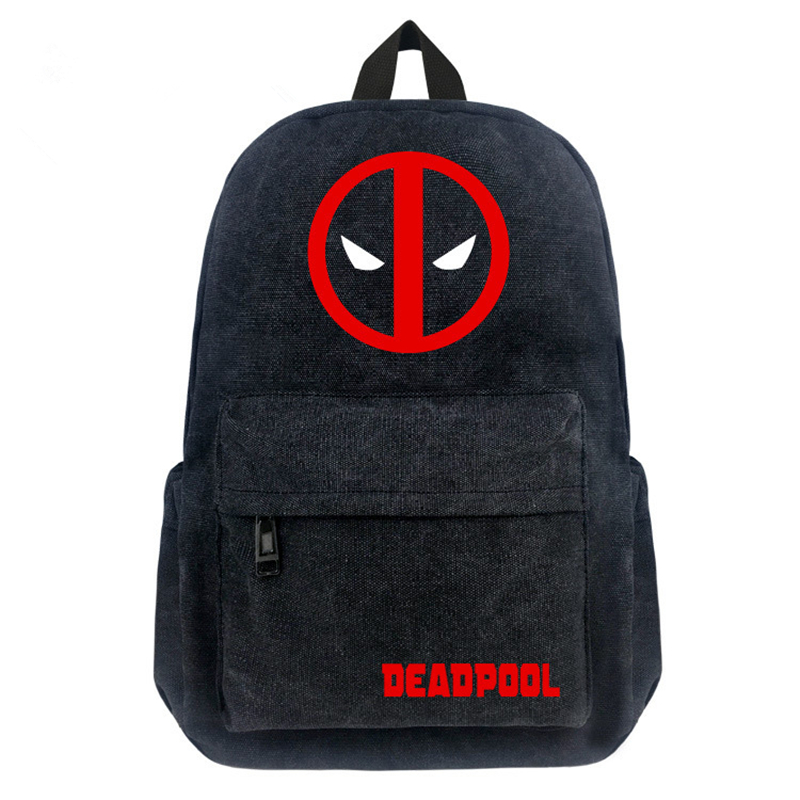 a0336af85204 Detail Feedback Questions about Free Shipping Super heroes Deadpool  Backpack Boy And Girls Canvas Backpacks Teenagers School Bags Comics  Avengers Travel bag ...