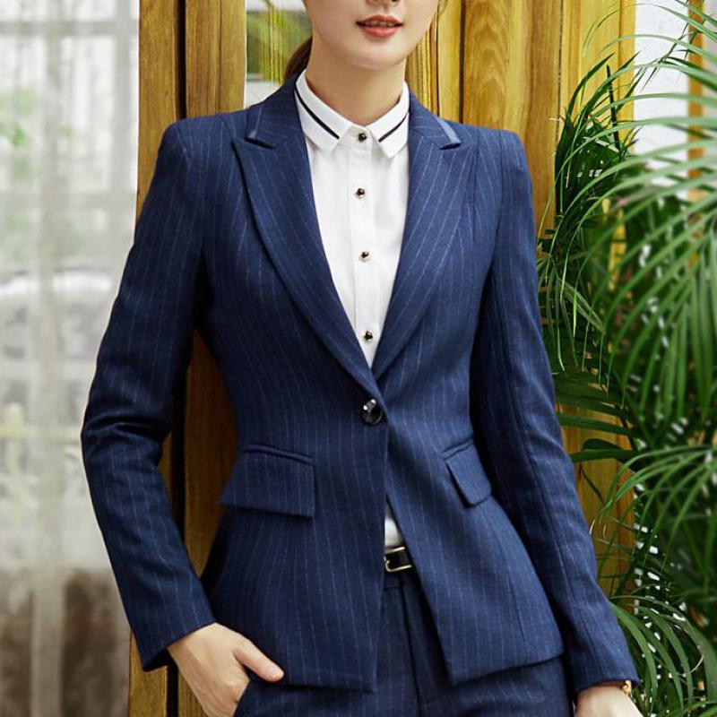 Women Blazers And Jackets Autumn Slim Ladies Office Work Wear Business Jacket Top Elegant Outwear Blazer Feminino