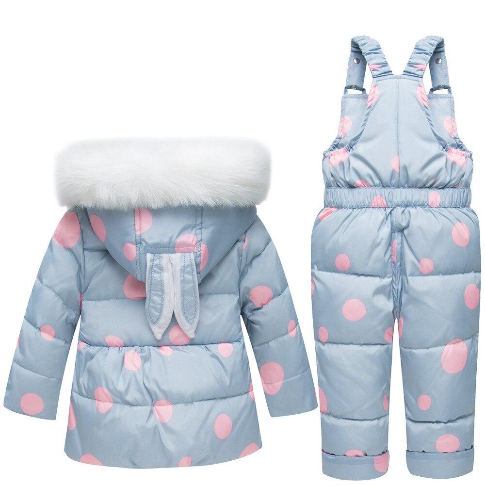 Clothing Parkas Snow-Jumpsuit Toddler Infant Newborn Winter Baby Kids Girls Thickening
