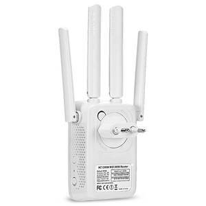 Image 5 - 1200Mbps Wall Plug Routers AC1200 Dual Band Wireless Wi Fi AP Wifi Repeater Router Extender Booster 2.4/5GHz English Firmware