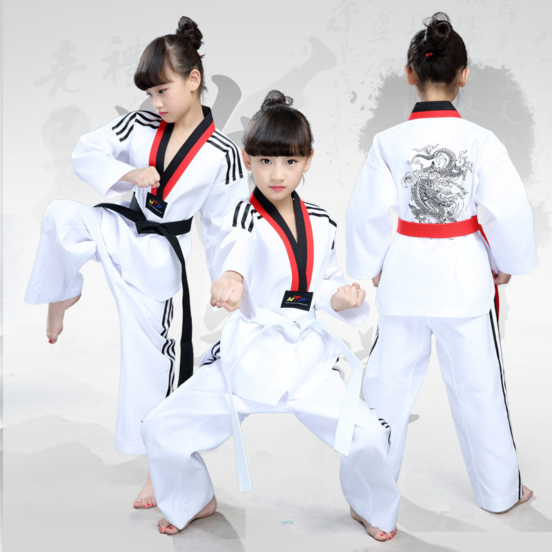 Professional Children, Taekwondo Clothing Martial Arts Martial Arts Uniforms Martial Arts  Juvenile Taekwondo Stage Costumes