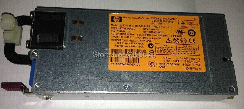 750w 599383-001 591554-001 593831-B21 591556-201 Server Power