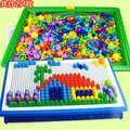 BA Breve Criativo Das Crianças Dos Miúdos de alta Qualidade Prego Composite Imagem Greative Mosaic Toy Kit Enigma AB