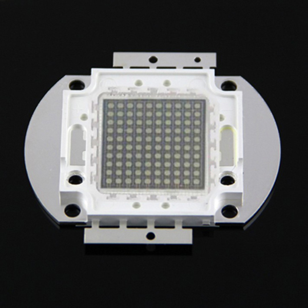 1pcs 100w 395-400nm uv led chip uv 395nm 100w chip uv led chip for fishing light uv curing uv