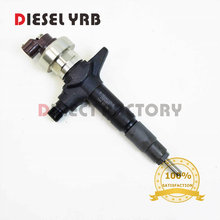 GENUINE BRAND NEW DIESEL FUEL INJECTOR 295050-1900, 295050-0910, 295050-0911, 295050-0912 FOR D-MAX 8982601090, 8981595831