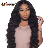 360 Lace Frontal Wig Malaysia Body wave Lace Front Wig Gossip Remy Human Hair Lace Wig Pre Plucked Full Lace Human Hair Wigs
