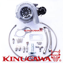 Kinugawa Ball Bearing Turbocharger 4″ Anti-Surge GTX3071R AR.82 T3 5 Bolt Internal