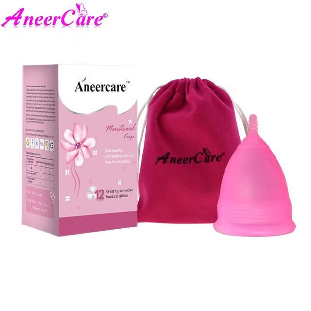 1set menstrual cup monthly period cup coppetta mestruale menstruatie cup coupe menstruelle kubek menstruacyjny copita aneercare