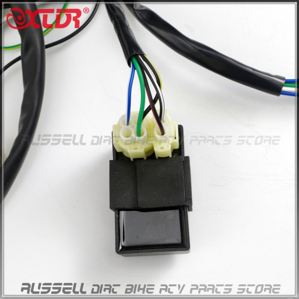 medium resolution of gy6 150cc complete full wiring harness cable wire ignition coil cdi rh aliexpress com cdi box wiring diagram yamaha 500 6k8 10 chinese cdi box wiring