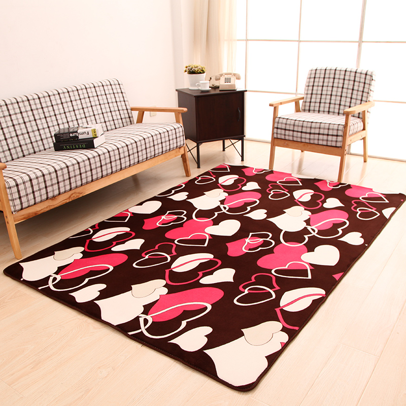 120x160cm Big Carpets For Living Room Flower Bedroom Rugs And Carpets Door Mat Coffee Table Area