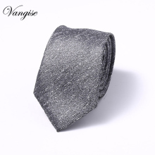 Mens Necktie Fashion Classic Checked 6 CM Skinny Tie Silk JACQUARD WOVEN Neckties Wedding Party Business Casual Men Neck Ties