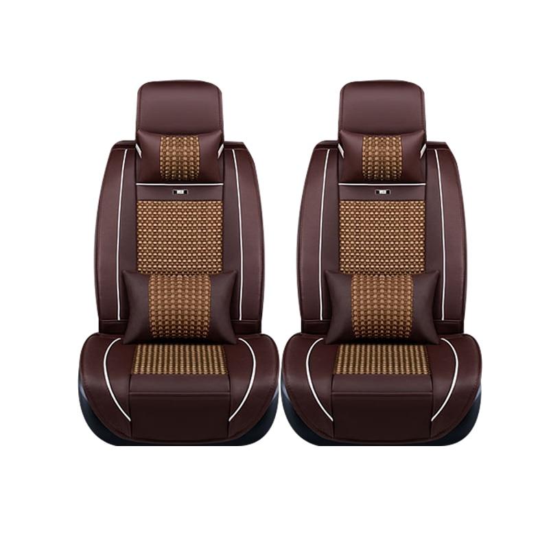 все цены на Special leather only 2 front car seat covers For Suzuki jimny Grand Vitara Kizashi Swift SX4 Wagon R Palette Stingray styling