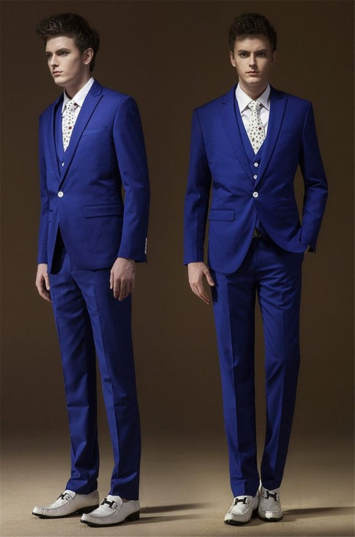 Royal Blue Wedding Suits for Groom – fashion dresses