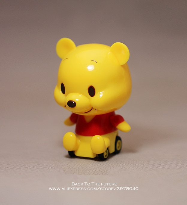 disney winnie the pooh 10cm action figure anime decoration collection figurine mini doll toy