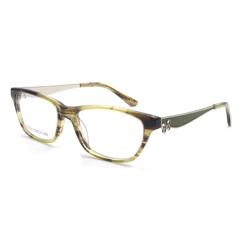 HOTOCHKI New Arrival Retro Eyeglasses Frames Women Butterfly Optical Prescription Elegant Female Acetate Frame oculos de grauWomens Eyewear Frames   -