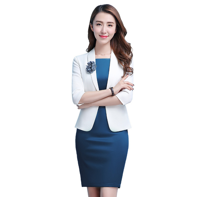 Women Business Suits 2018 Fashion Women S Autumn Jackets And Dress