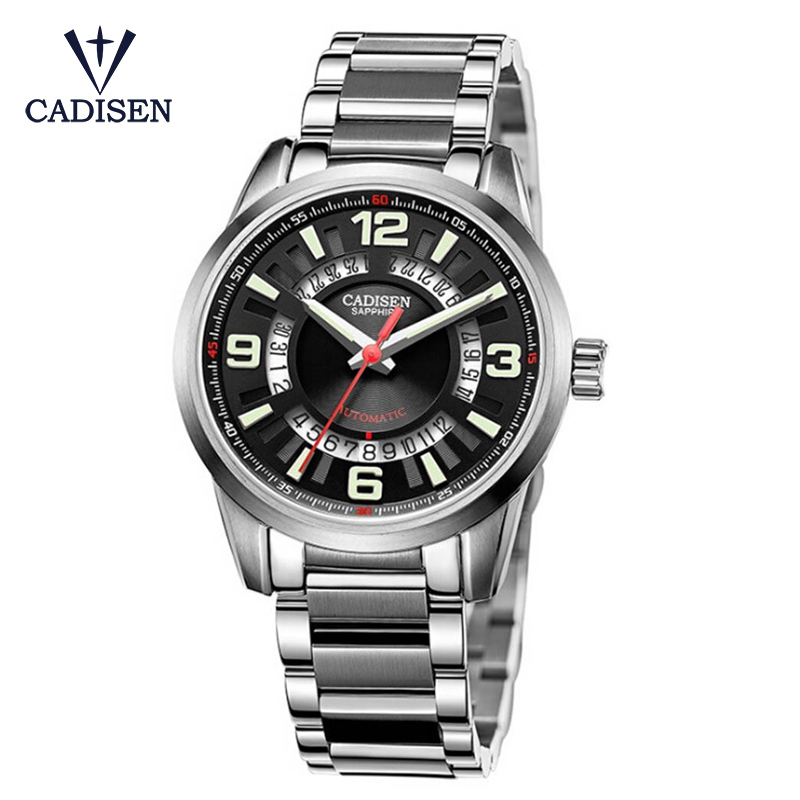 Special Design Fashion Turntable Dial Steel Band Wrist Watch Men Mechanical Watches Relogio Masculino Male Clock Gift