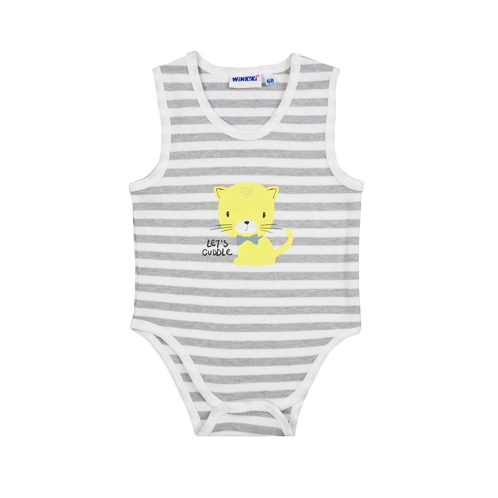 Bodysuits Winkiki for girls and boys WN81002 Body Newborns Jumpsuit Baby Clothing Swimsuit Children clothes gentleman clothes baby bebe menino infant toddler boy black and gray vest tie striped cotton romper jumpsuit wedding clothing