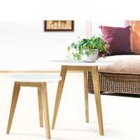 Nordic Living Room Fashion Table Creative Small Round Table Coffee Table Sofa Side Table