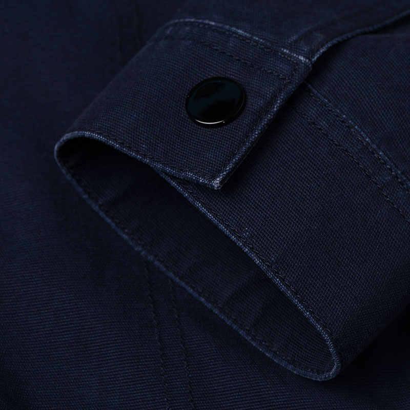 SEMIR куртки мужские пальто с длинными рукавами хлопок мода уличная классическая одежда весенняя одежда с принтом буквы для мужчин шик