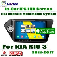 For Kia RIO 3 2011~2017 GPS Navigation Carplayer Android System RockChip PX5 1080P 9 HD IPS LCD Screen Radio Head Unit