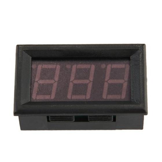 Mini Ammeter Digital Ammeter Led Panel Meter 0-50 LED Red Drop Shipping