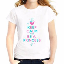 keep calm series casual t shirts feminina JOLLYPEACH  brand new summer Tees shirt Breathable tshirt Short Sleeve T-Shirts femme