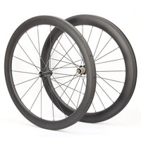 Newest Sport Rim 50mm U Shape Road Racing Bike Wheels Clincher Carbon Material Road Bike Wheelset