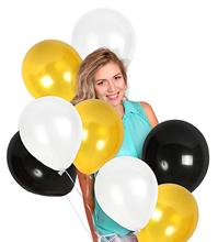 METABLE Pack of 100 12/10 Inch Thick Latex Balloon Party Supplies for Birthday Bachelorette Graduation Decorations