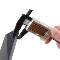 1pcs 6 Inch Carbon Fiber Composite Electronic Digital Vernier Caliper Rule Micrometer Gauge/measuring Instrument Worldwide Measuring Tools