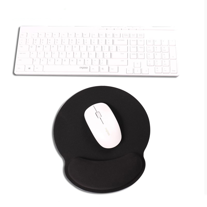 Mouse Pad with Wrist Support Non-Slip Rubber Base for Computer Laptop,Wrist Rest for Computer Laptop Gaming and Office Durable Comfortable and Pain Relief 25x23 marle005