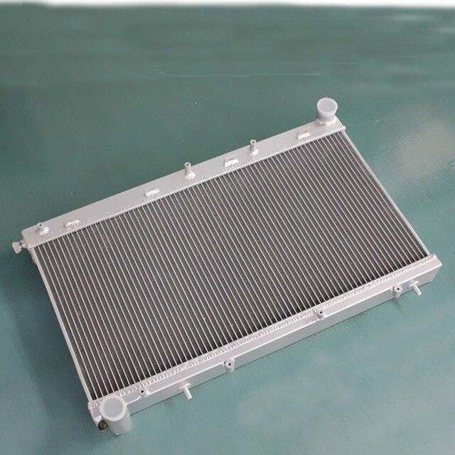 aluminum radiator for subaru forester gt sf5 ej20 turbo m/t 1998-2002 1999  2000 2001