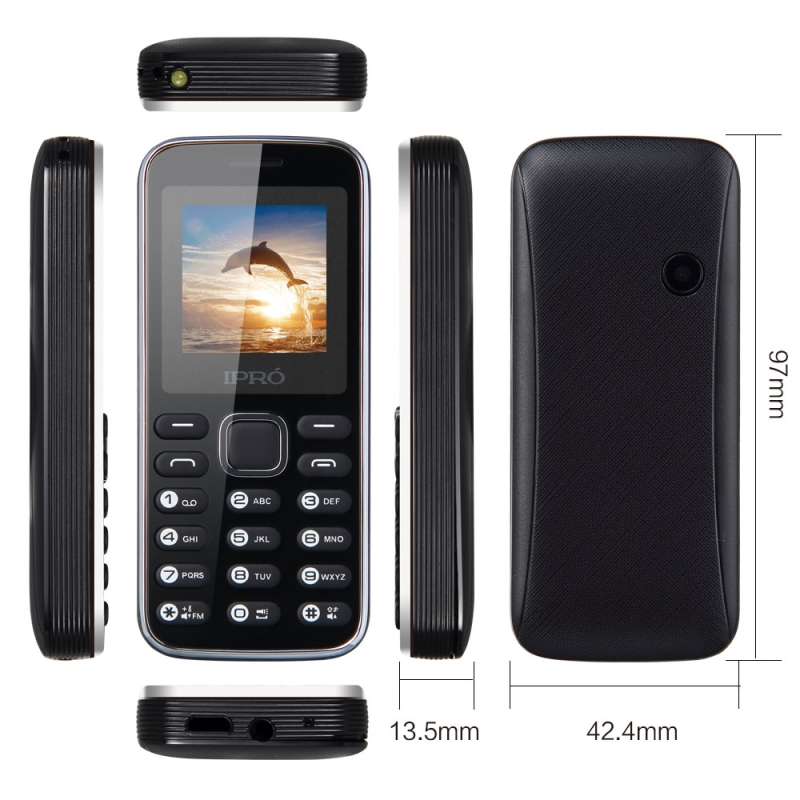 IPRO Original I3150 Tamaño Mini Teléfono Móvil para niños 1.44 ''pulgadas 2G Red
