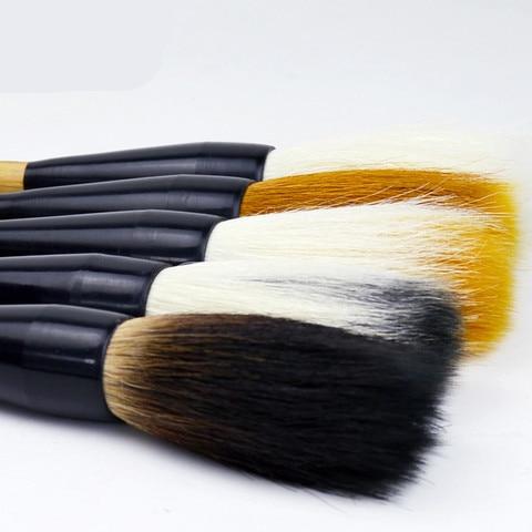 tradicional chinesa tamanho grande pinceis de caligrafia distico caneta la doninha varios cabelos escovas escrita