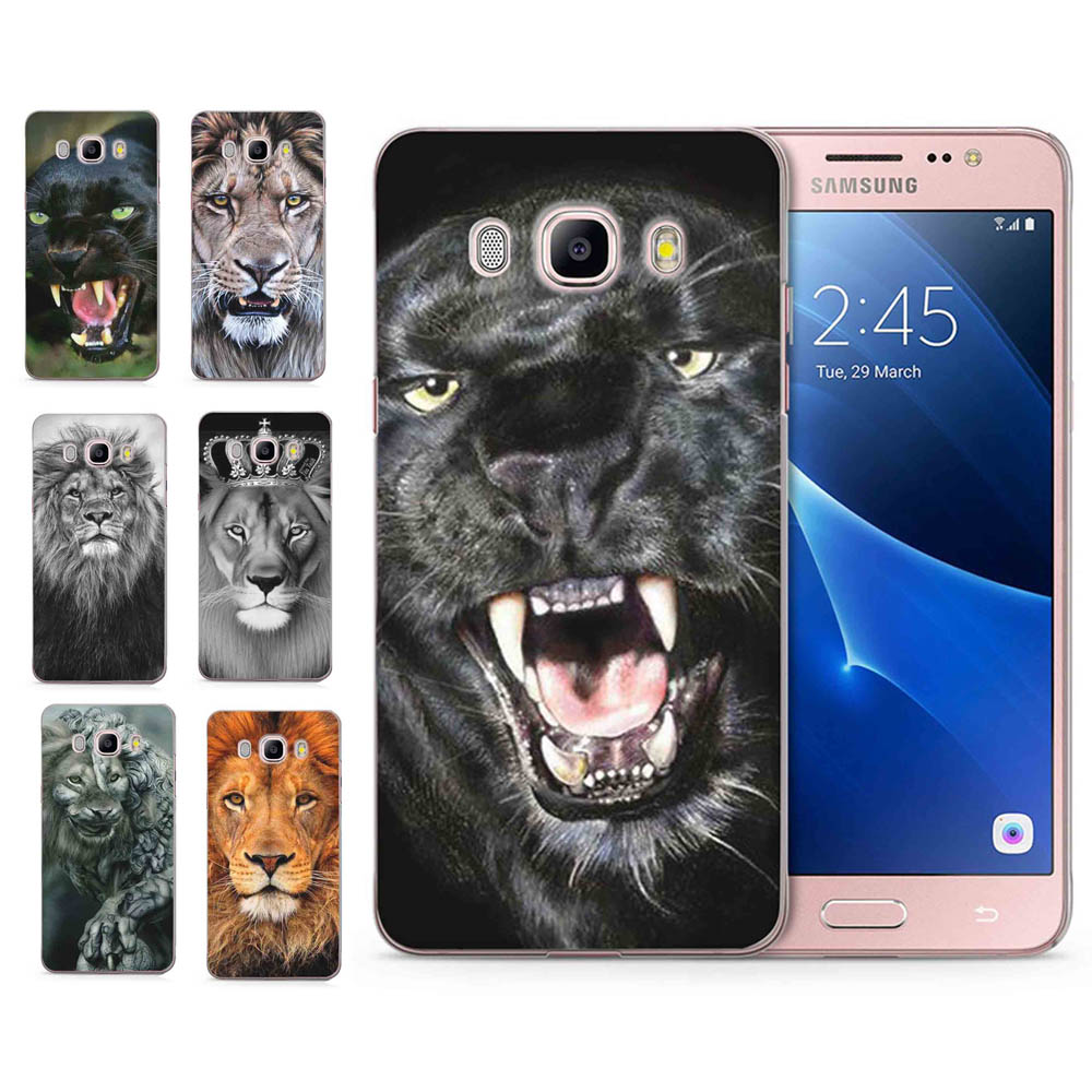 For Samsung Galaxy A3 A5 2016 2015 2017 prime J1 J2 J3 J5 J7 G530H S8/plus Note 8 TPU Silicon Lion Leopard Tiger Cover Case C106
