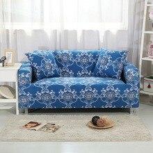 08395edeecf Azul Marino cubierta de sofá apretado todo incluido funda para mujeres elástico  muebles Protector de simple