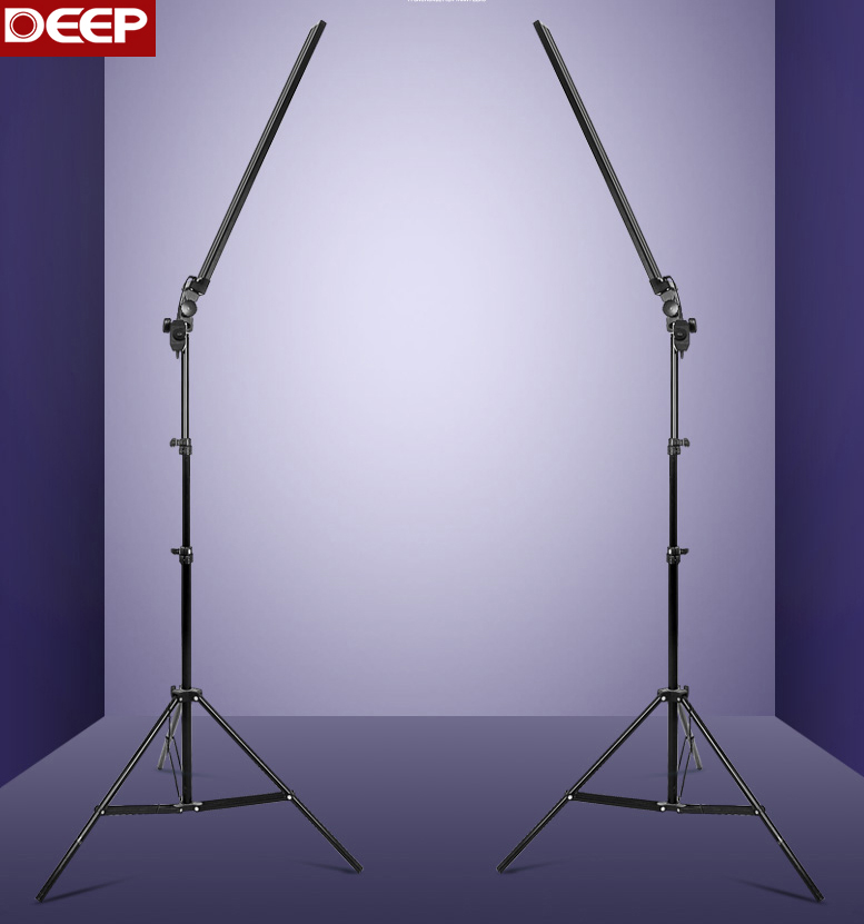 2 шт./лот 30 Вт/шт. 5500 К аксессуары для фотостудий длинные софтбоксы Professional светодио дный светодиодные ленты фотографии алюминиевая крышка ди...
