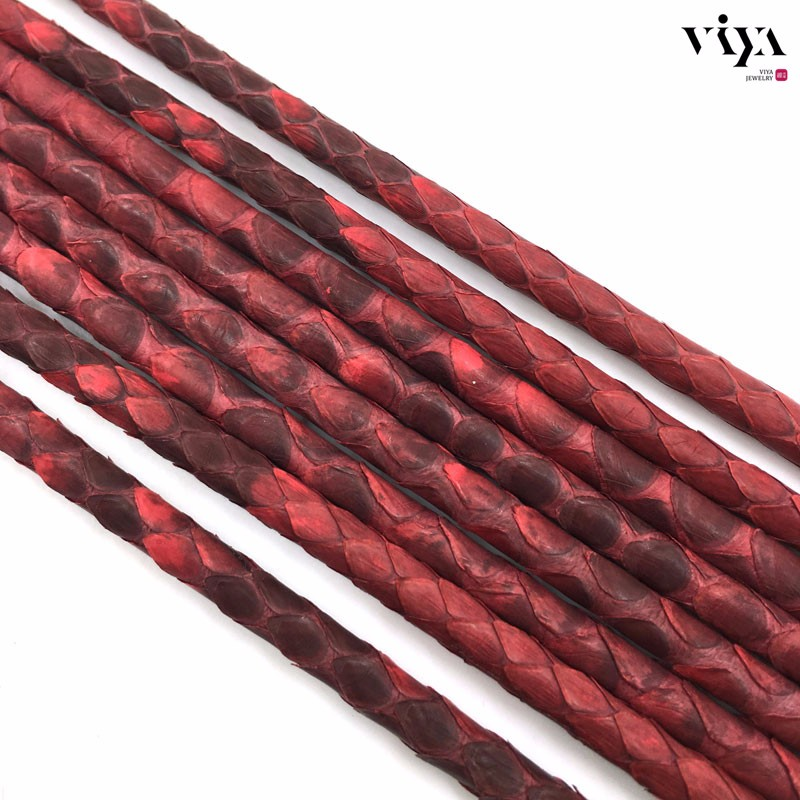 matt-red-Python-Skin-Leather-Cord-Available-Diameter-4-mm-5-mm-6-mm-(6)