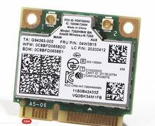 Intel Sans Fil-N 7260BN 7260 HMWBN Demi Mini PCIe 300 Mbps + BT4.0 WLAN WIFI Carte FRU: 04W3815 pour Lenovo Y510P Y410P S1 Y430P