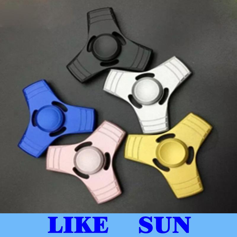 New Arrival Fidget Hand Spinner Finger EDC Toy For Decompression Anxiety Metal Ceramic Ball Bearing EDC